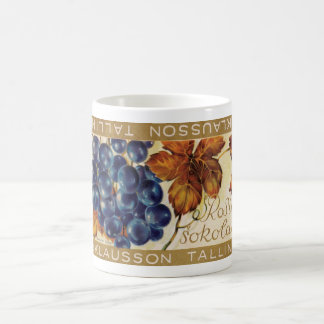 Tasse d'emballage de barre de chocolat de raisin