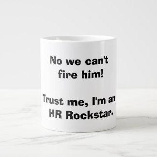 Tasse d'heure Rockstar de ressource humaine