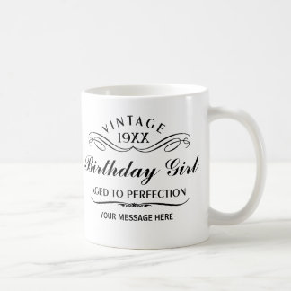 Tasse drôle personnalisée d'anniversaire