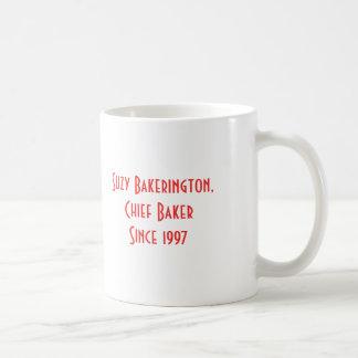 Tasse du jour de mère de la boulangerie de la mama