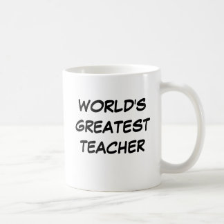 "Tasse du plus grand ""professeur du monde"""