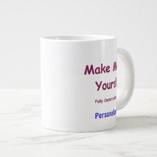Tasse en céramique enorme faite sur commande pour  mugs jumbo