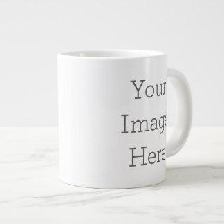 Tasse faite sur commande de spécialité mug extra large