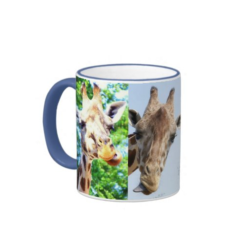 Tasse Giraffen lustig Ringer Coffee Mug