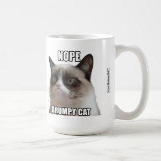 """Tasse grincheuse de chat - NOPE. CAT GRINCHEUX """""""