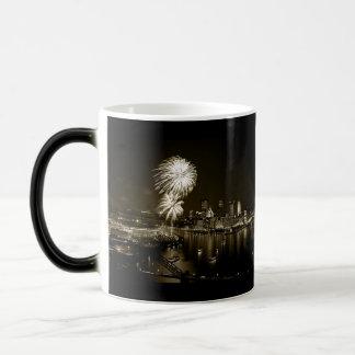 Tasse magique de photo de Pittsburgh