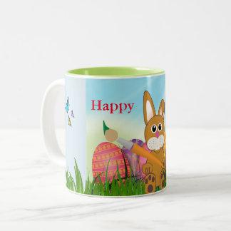 Tasse mignonne de souvenir de vacances de lapin de