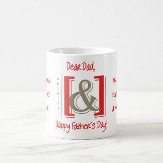 Tasse originale de cadeau de fête des pères