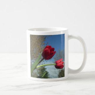 tasse personnalisable de tulipe de ressort