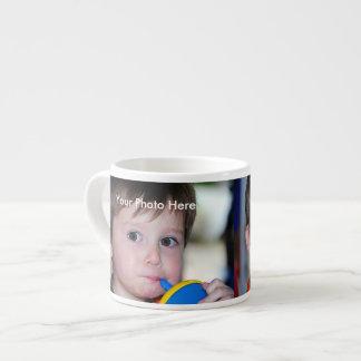 Tasse personnalisée de café express de photo
