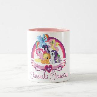 Tasse personnalisée de copains de poney