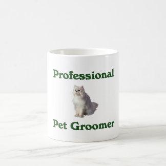 Tasse professionnelle de Groomer d'animal familier
