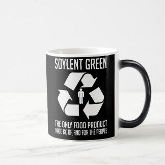 Tasse verte de Soylent