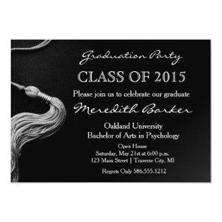 Tassel Graduation Party Invitation Class of 2015