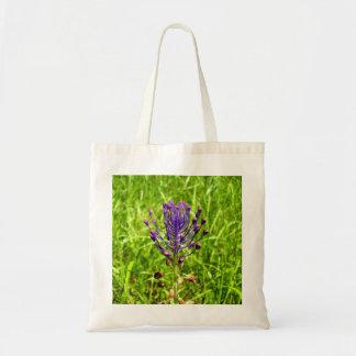 Tassel-Hyacinth Tote Bag