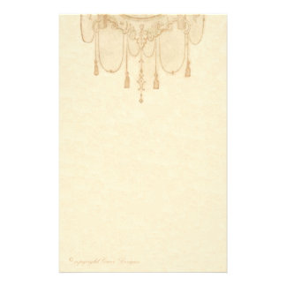 Tassels and Frills Stationery
