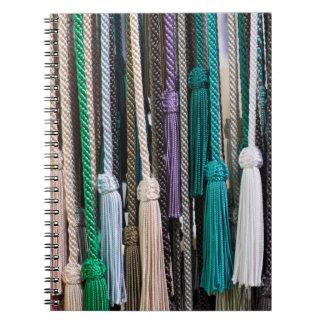 Tassels At Market Notebook