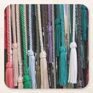 Tassels At Market Square Paper Coaster