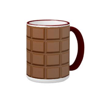 """Tasses """"de barre de chocolat"""""""