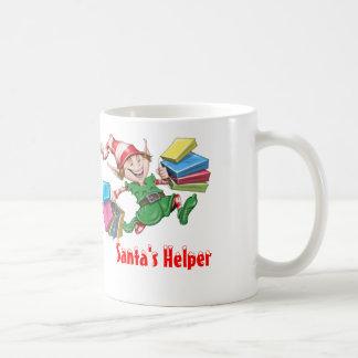 Tasses de café de l'aide de Père Noël et Steins de