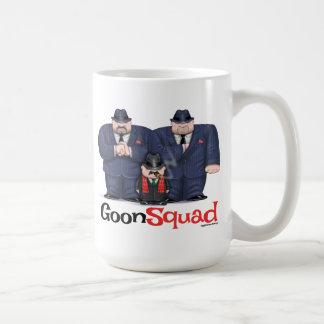 Tasses de café de peloton de crétin de Mafia et St
