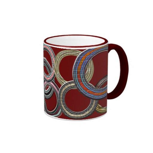 Tasses de café faites sur commande