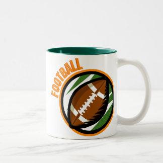 Tasses de passioné du football
