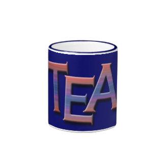 Tasses faites sur commande de thé