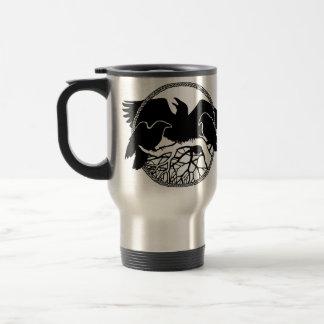 Tasses sauvages de Raven de tasse de voyage