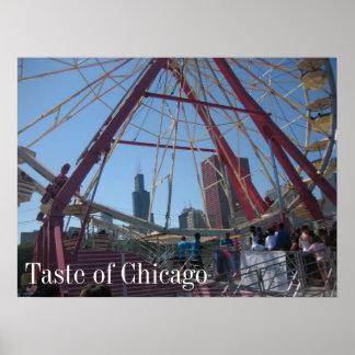Taste of Chicago Poster