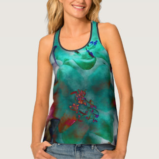 """Taste of the Orient"" Racerback Tank Top"