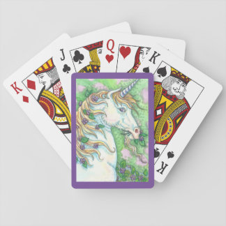 Taste Of Violets FANTASY UNICORN PLAYING CARDS
