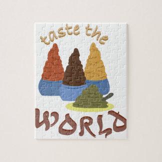 Taste the World Jigsaw Puzzle