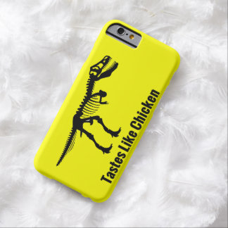 Tastes Like Chicken - Dinosaur iPhone Case Barely There iPhone 6 Case