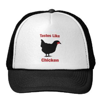 Tastes Like Chicken Mesh Hats