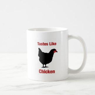 Tastes Like Chicken Coffee Mugs