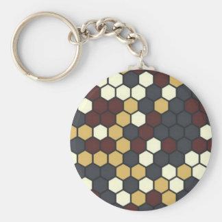 Tastica Basic Round Button Keychain