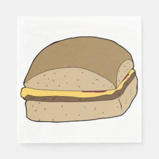 Tasty Burger Napkins