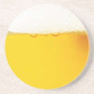 Tasty Cold Beer Drinking Coaster