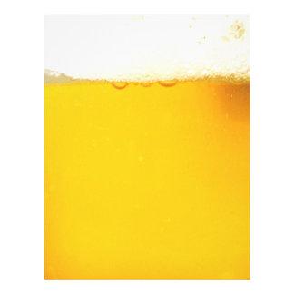 Tasty Cool Beer Letterhead
