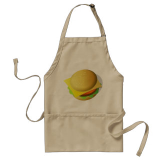 Tasty Hamburger Apron