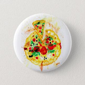 Tasty Pizza 2 Inch Round Button