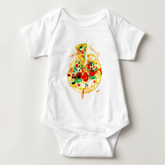 Tasty Pizza Baby Bodysuit