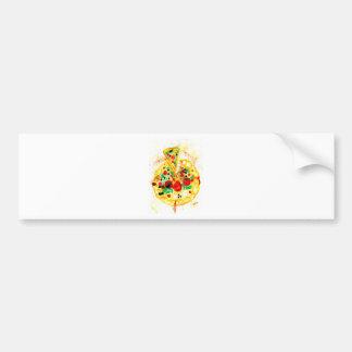 Tasty Pizza Bumper Sticker