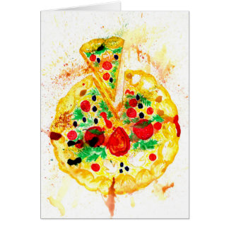 Tasty Pizza Card