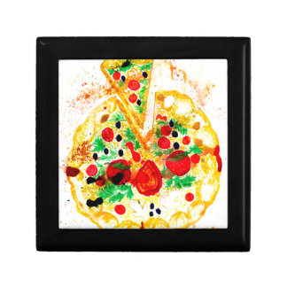 Tasty Pizza Jewelry Boxes