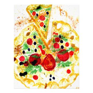 Tasty Pizza Letterhead