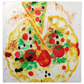 Tasty Pizza Napkin