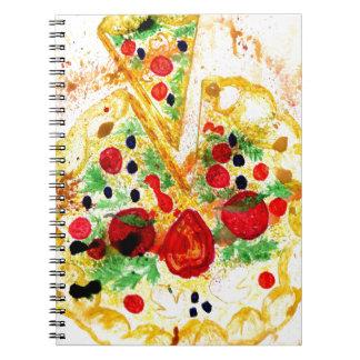 Tasty Pizza Notebooks