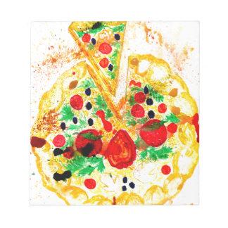 Tasty Pizza Notepad